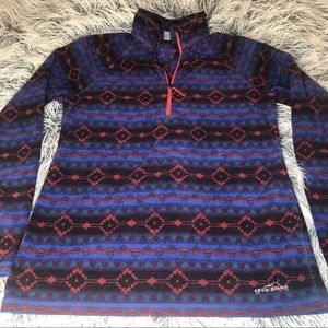 Eddie Bauer size M Quest Fleece 1/4 zip pullover